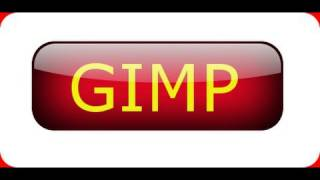 GIMP tutorial for beginners -  Shiny Glossy Button