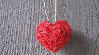 getlinkyoutube.com-Valentine's Day String Heart Craft Tutorial