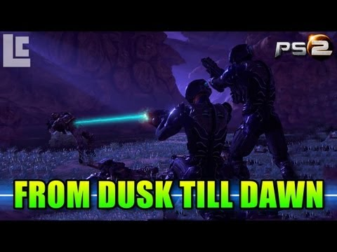 Battle From Dusk Till Dawn (Planetside 2 Gameplay/Commentary)