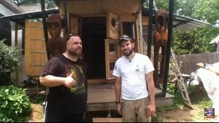 getlinkyoutube.com-U-Haul Tiny house with slide outs plus off grid solar install by OFF GRID CONTRACTING