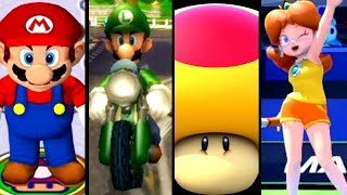 getlinkyoutube.com-Super Mario Sports ALL MEGA MUSHROOMS 2002-2015 (Wii U, Wii, GC)