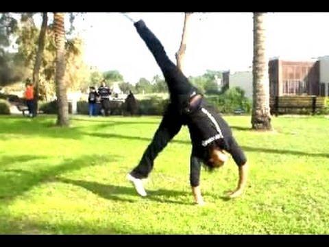تعلم اسهل حركة جمباز كرت ويل مع نسر الكونغ فو how to do cartwheel easy basics