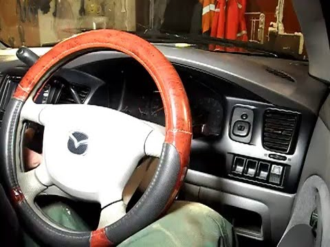 Где находятся рулевые наконечники в Mazda Трибьют