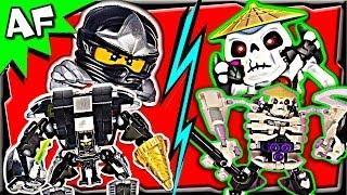 getlinkyoutube.com-COLE vs SKELETON - Lego Ninjago MECH BATTLE #4 CGI film