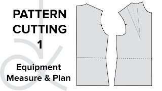 getlinkyoutube.com-Pattern Cutting - Flat Pattern Drafting, the Bodice Block part 1