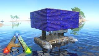 getlinkyoutube.com-Ark Survival Evolved: CASA NO BARCO e NOVA BASE!!! #15