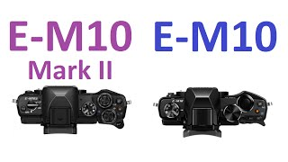 getlinkyoutube.com-OLYMPUS OM-D E-M10 Mark II vs OLYMPUS OM-D E-M10