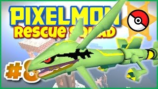 Minecraft Pixelmon 4.0.7 Rescue Squad ★ Episode 8 ► MEGA RAYQUAZA ★ Pixelmon Roleplay Adventure