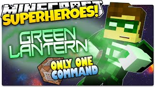 getlinkyoutube.com-Minecraft | How To Be A Superhero! | GREEN LANTERN! | Only One Command (One Command Creation)