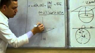 getlinkyoutube.com-الهندسة الفضائية : معادلة ديكارتية لسطح الكرة