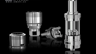 getlinkyoutube.com-Uwell | Crown Tank & RBA Coil | Review