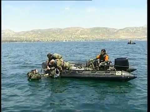 Ειδικές Δυνάμεις 4ο Σχολείο Υποβρύχιων Καταστροφέων Στρατού Ξηράς Καταδρομείς 6ο Βίντεο