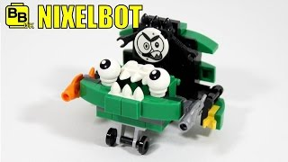 getlinkyoutube.com-LEGO MIXELS SERIES 9 GOBBOL 41572 ALTERNATIVE MIX NIXELBOT