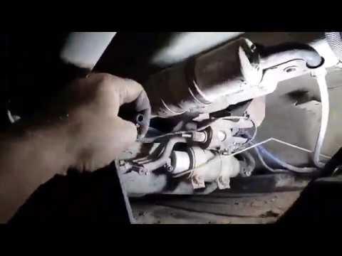 Ремонт Webasto чистка и проверка топливной магистрали BMW