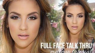getlinkyoutube.com-Full Face Talk Thru Makeup Tutorial