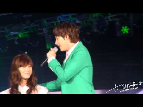 [Fancam HD] 120818 - SM TOWN in seoul - Just The Way You Are 'KYUHYUN' cut