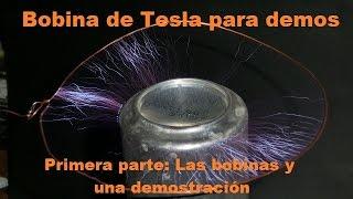 getlinkyoutube.com-Como hacer una bobina de Tesla casera para demostraciones. Las Bobinas