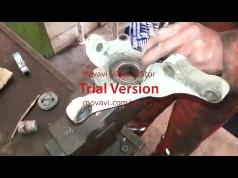 Замена подшипник ступицы Hyundai Elantra 2001 (Sukan yastiq dayaginin d?yisdirilm?si)