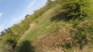 Bush Track Laps - FPV drone racing Canada - practice laps - LRC racer 210