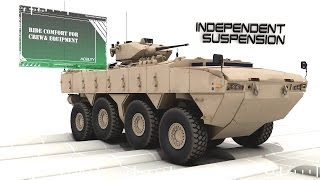 getlinkyoutube.com-FNSS - Pars 8X8 Wheeled Armoured Vehicle (WAV) Simulation [720p]