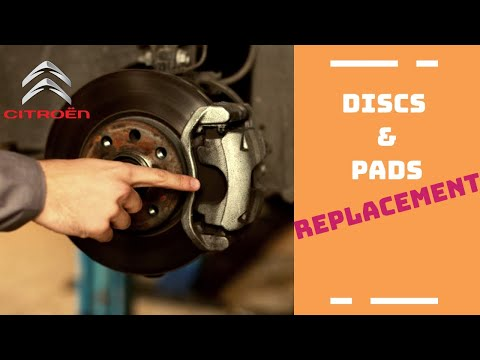 Change of brake pads and discs - ... C4, C4 Picasso, C3