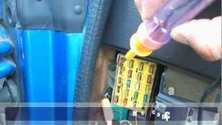 getlinkyoutube.com-Como saber sin un fusible de auto no sirve, técnica para probarlo sin sacarlo de su caja