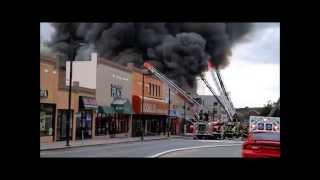 getlinkyoutube.com-4 alarm fire in a shoe store. Upper Darby Twp 69th st 7/6/2015