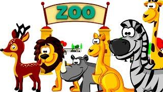 getlinkyoutube.com-zoo animals for children kids junior- zoo animals for children to learn - wild animals at the zoo