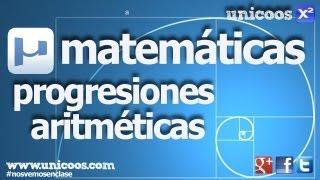 Imagen en miniatura para Progresión aritmética 01