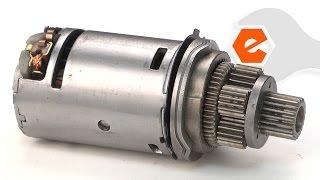 getlinkyoutube.com-Drill Repair - Replacing the Motor and Pinion (DeWALT Part # 396505-22SV)