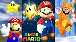 getlinkyoutube.com-Super Mario ALL LEVEL ENDINGS 1985-2016 (NES to Wii U)