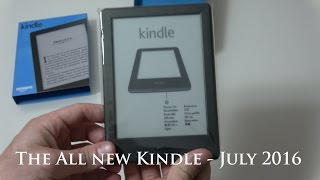 The All New Kindle(8th Gen) unboxing
