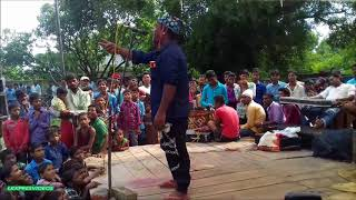 AMAZING COMEDY BY MANGALPUR DRAMA PARTY AS DHAMU ROCKED THE STAGE  DHAMU CHALE SADHUAWNI MEIN PART 1 width=