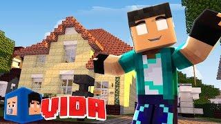 getlinkyoutube.com-Minecraft : CASA NOVA, VIDA NOVA !!! #194 (MINECRAFT VIDA )