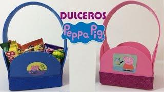 getlinkyoutube.com-Dulceros de Pepa con foami