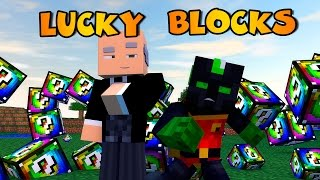 getlinkyoutube.com-Minecraft: ROBIN Y ALFRED!! c/ sTaXx | SPIRAL Lucky Blocks Epic Race
