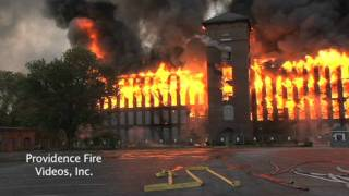 getlinkyoutube.com-Massive inferno destroys mill complex in Woonsocket, RI