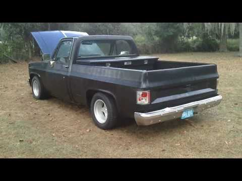 83 chevy silverado shortbed on 26s 83 chevy shortbed restore