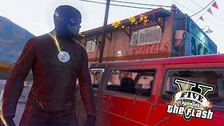 getlinkyoutube.com-GTA 5 PC - The Flash Most Wanted ! Trevor and Joker Clowns ! (Ultimate Flash Mod)