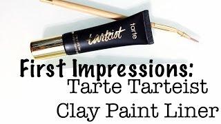 Download video tarte tarteist clay paint liner review for Tarteist clay paint liner