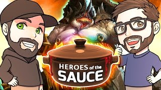 getlinkyoutube.com-Heroes of the Sauce | Unranked Draft | Mike & Dave of LiquorSauce |  Heroes of the Storm Gameplay
