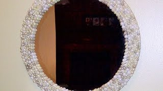 getlinkyoutube.com-How To Make A Beautiful Pearl Mirror - DIY Home Tutorial - Guidecentral