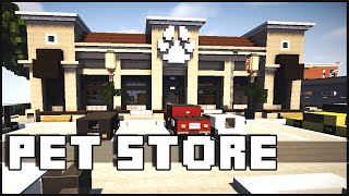 getlinkyoutube.com-Minecraft - Pet Store