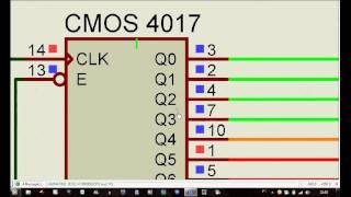 getlinkyoutube.com-SEMÁFORO COM CMOS 4017 E NE555