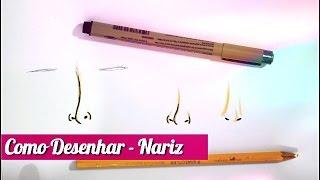 getlinkyoutube.com-TUTORIAL Como Desenhar Nariz Simples!