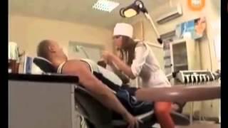 getlinkyoutube.com-Funny Dentist Prank / Candid camera