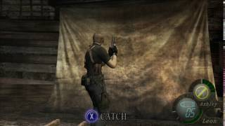 Resident Evil 4, Ashley calls Leon a pervert