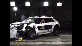 getlinkyoutube.com-Euro NCAP Crash Test of Citroen C4 Cactus 2014