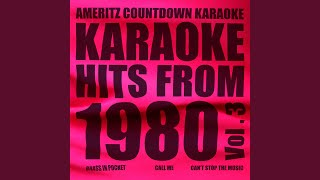 Buzz Buzz A-Diddle-It (In the Style of Matchbox) (Karaoke Version)