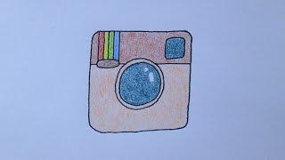getlinkyoutube.com-Como desenhar a logo do Instagram